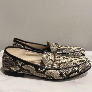 Sam Edelman Snake Print Loafers Size 9.5